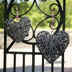 Coeur en rotin