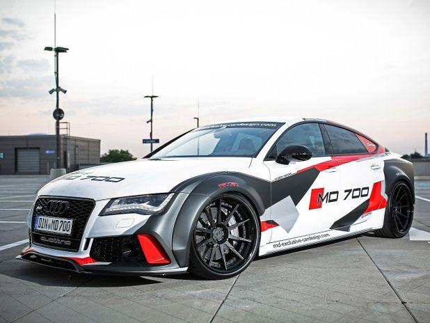 Audi S7: Tuning von M & D Exklusives Kartendesign