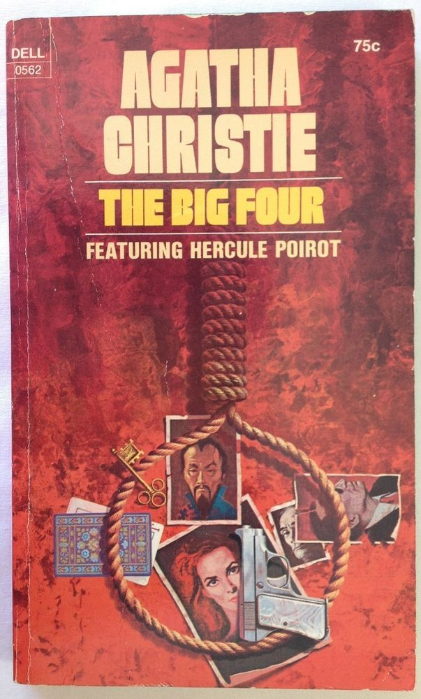 The Big Four by Agatha Christie (1972, Paperback) Hercule Poirot Mystery