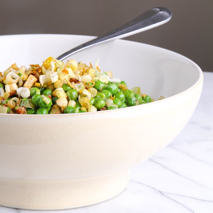 ... about vegetables (peas) on Pinterest | Bacon, Snow peas and Pea salad