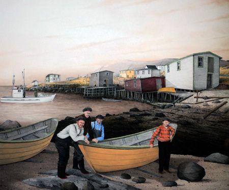 Low Tide by Newfoundland Artist Dale Ryan