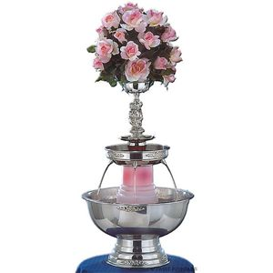 Sweet Fountains Silver Champagne Fountain