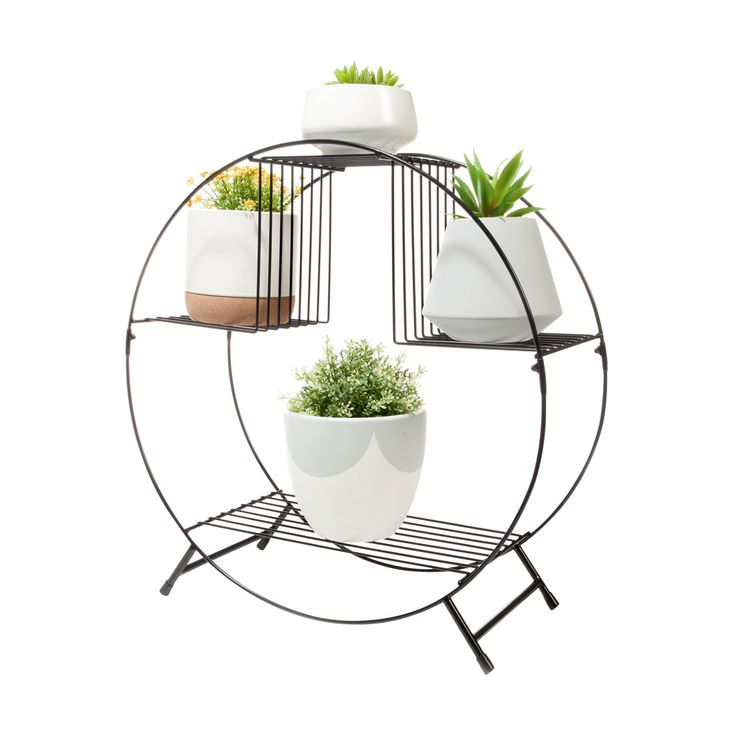 Circular Plant Stand | KmartNZ $22, 55.5cm high and wide