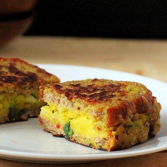 Samosa Stuffed French Toasts. Vegan Recipe | Vegan Richa. the ultimate comfort food in my eyes:)