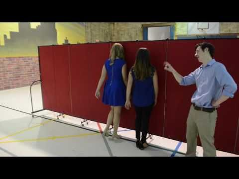 A Humorous Look At The Sound Absorption Quality Of Portable Walls In Any  Given Space.