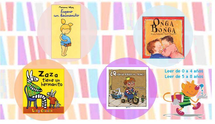 Cuando un hermanito está en camino: libros para que el hermano mayor supere los celos