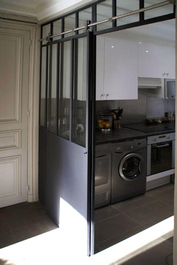 Great idea for mud room/laundry door!