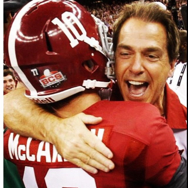Nick Saban!