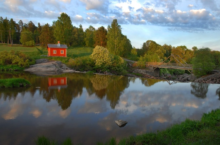 Can't think of anything more idyllic than this! #Lahti #Finland #Beautiful