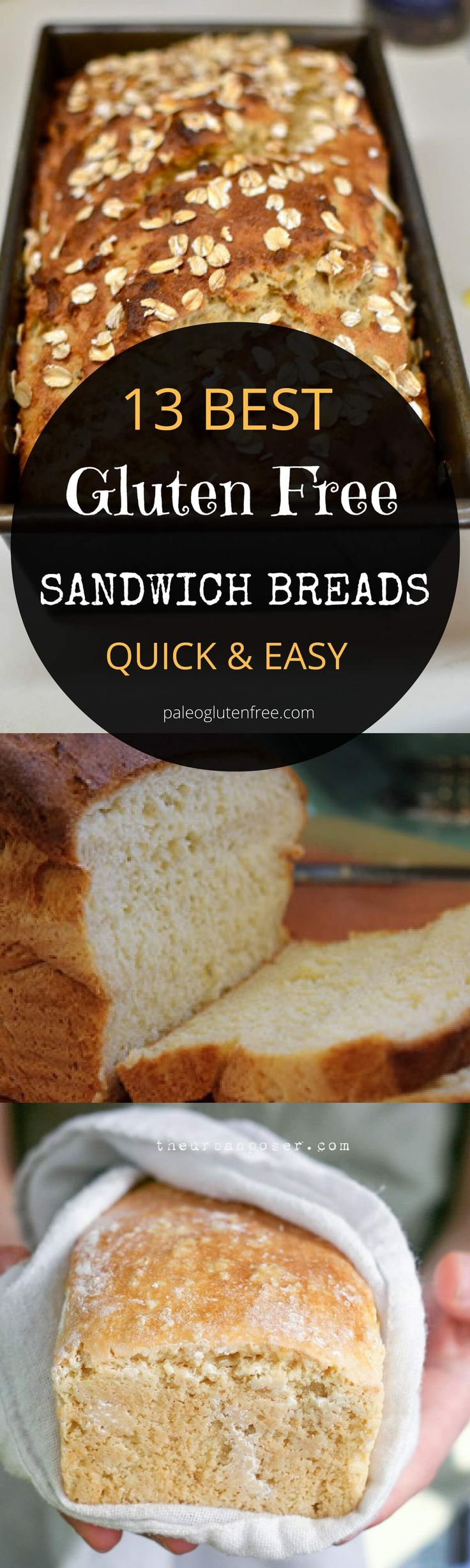 Easy gluten free bread recipes.
