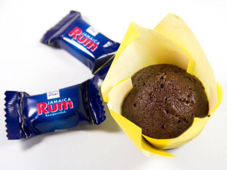 Jamaica Rum Schoko-Muffins - das Rezept findet ihr auf unserem Blog: http://www.ritter-sport.de/blog/2014/08/08/rezept-fluffige-jamaica-rum-schoko-muffins/