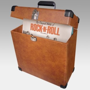 Records?  What are those? Crosley Record Carrier Case at JukeBoxes.com for $60