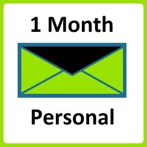 Email Marketing 1 Month Personal