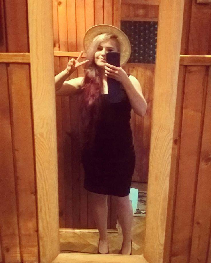nice Saturday goin' out #saturday #weekend #littleblackdress #blackdress #longhair #c...  Saturday goin' out #saturday #weekend #littleblackdress #blackdress #longhair #colorhair #summervibes #heels #highheels #mirrorselfie #selfie #polis...