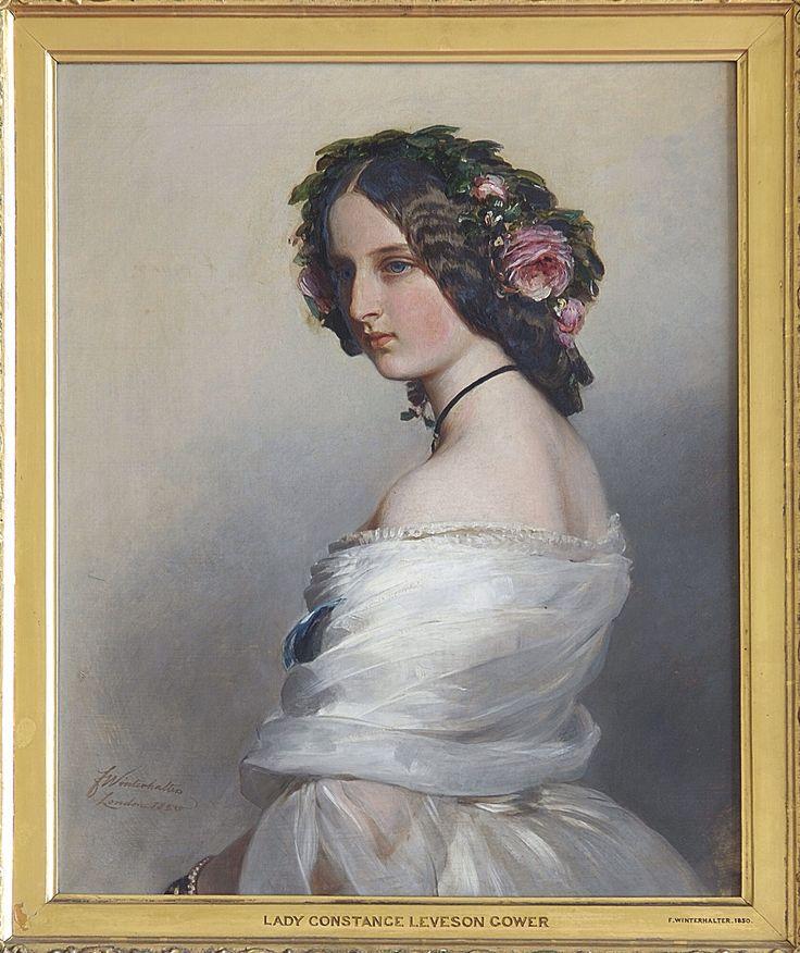 Franz Xaver Winterhalter (18051873) Lady Constance