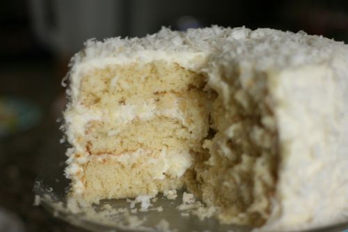 Coconut Cake as Easter Dessert