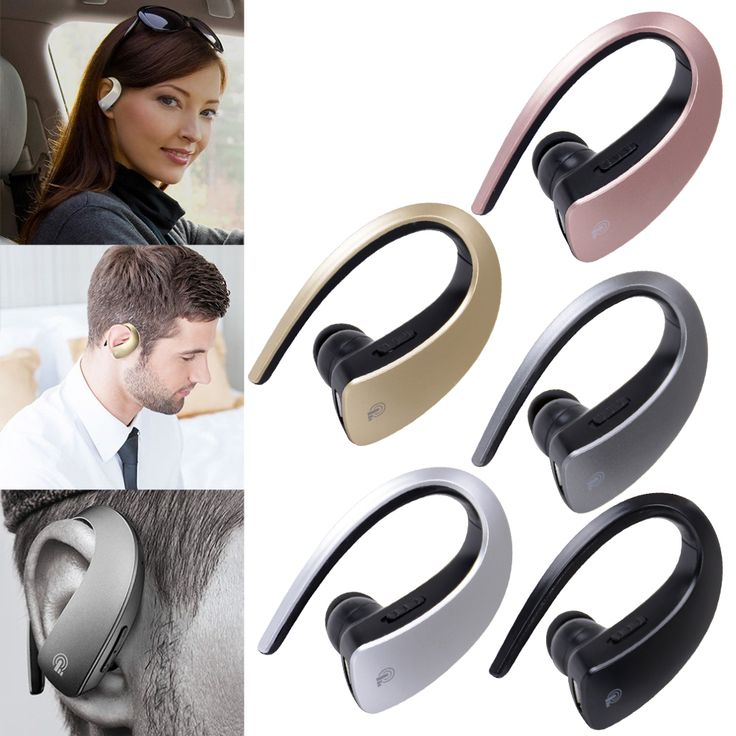 Mini Bluetooth Headset Portable Wireless Earphone Headphone V4.1 Blutooth In-Ear Auriculares with Microphone for Mobile Phone