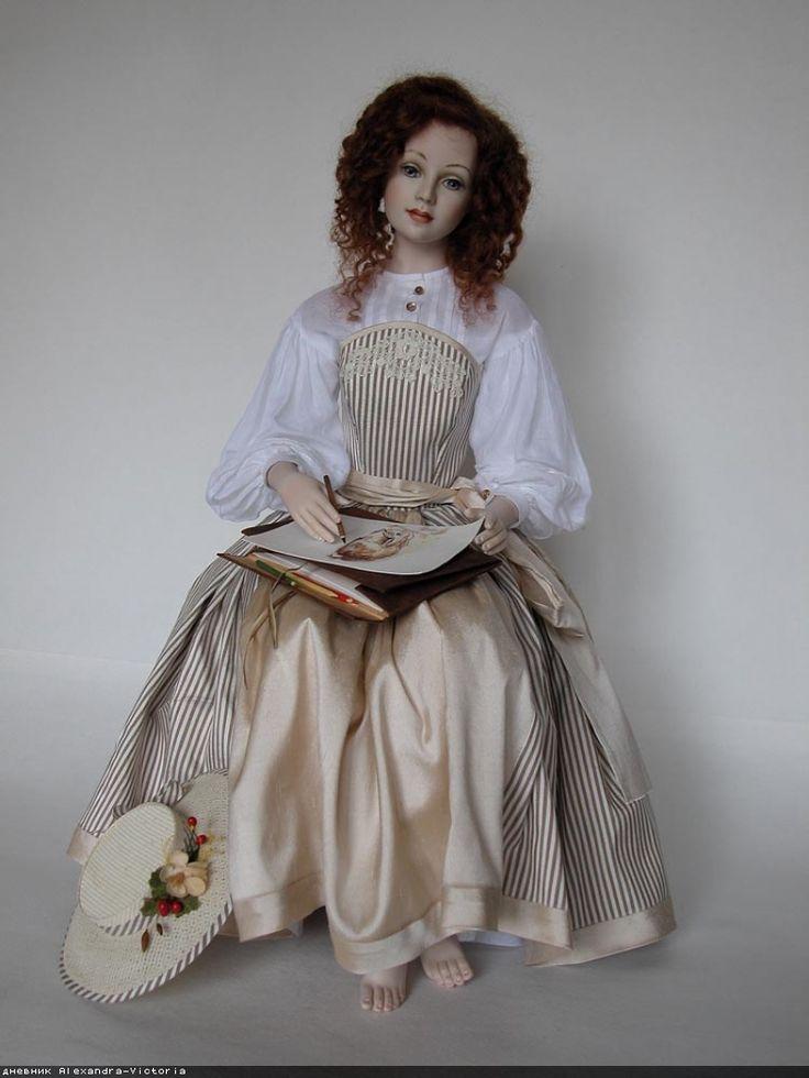 поза кукла авторская картинки песни поет только