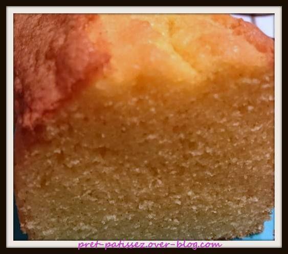 Quatre-Quart à la vanille de Prêt Pâtissez