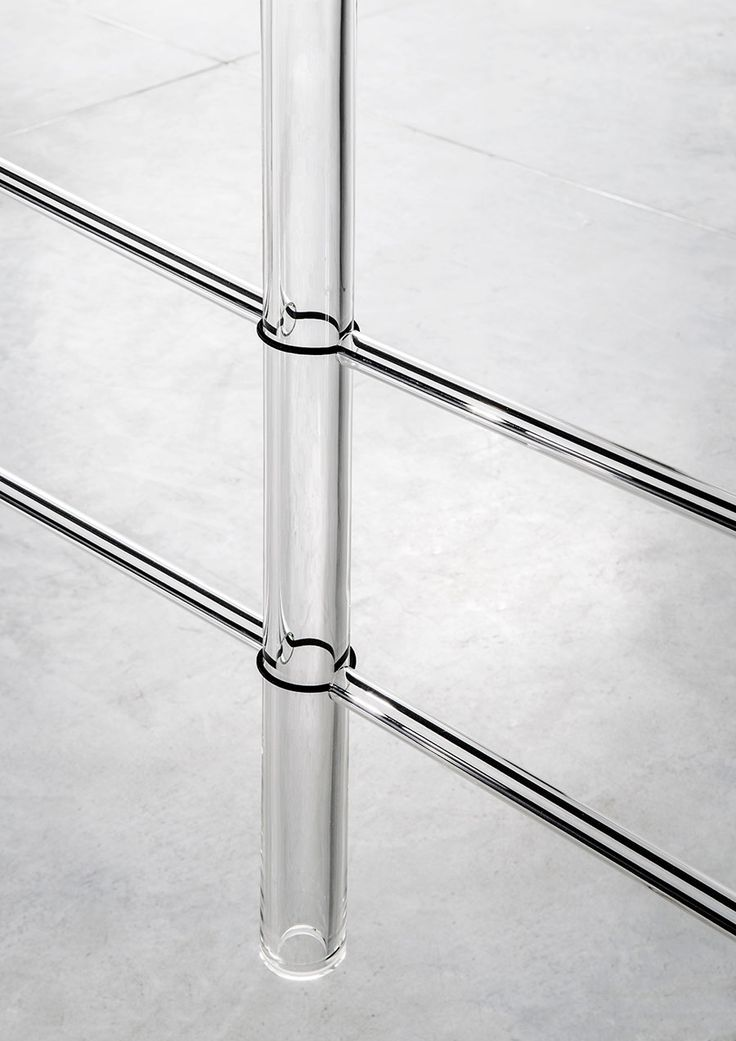 Detail of Screen #3 (blown glass, elastic band, cord). Photo © Studio Bouroullec.