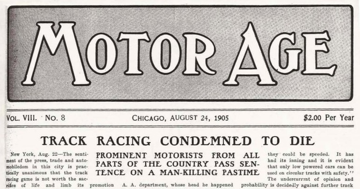 August 24: Demise of auto racing predicted on this date in 1905 | Motoramic - Yahoo! Autos