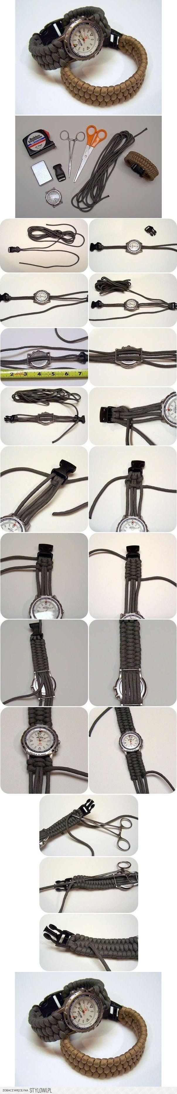DIY Watch Weave Bracelet DIY Projects | UsefulDIY.com na Stylowi.pl