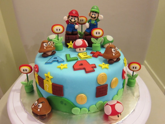 23 besten super mario torte bilder auf pinterest super mario kuchen zucker und geburtstage. Black Bedroom Furniture Sets. Home Design Ideas
