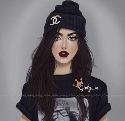 صور بنات كيوت 2019 احلي خلفيات بنات للفيس بوك Girly M Girly M Instagram Cute Girl Drawing