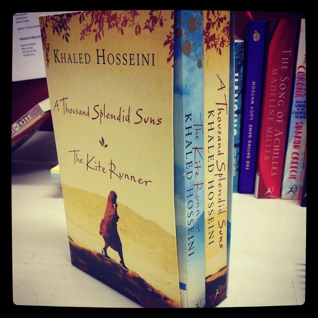 This Khaled Hosseini Box Set is a must have!