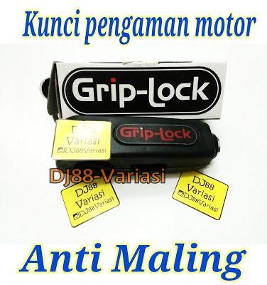 Griplock pengaman motor anti maling gembok motor di handgrip handle rem