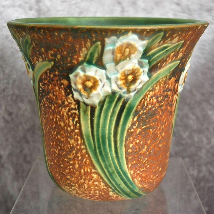 147 Best Roseville Pottery Images On Pinterest