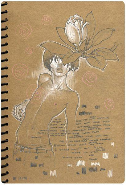 { audrey kawasaki } untitled doodle