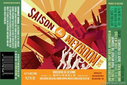 mybeerbuzz.com - Bringing Good Beers & Good People Together...: De La Senne - Saison du Meyboom 2015