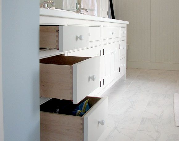 Featured Mill Built Bathrooms | Connor Cabinetry