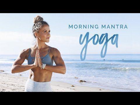 1) Morning Mantra Yoga   Tone It Up Tuesday! - YouTube