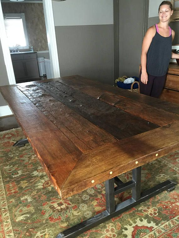 Make A Dining Statement With Stunning Reclaimed Wood Tables These