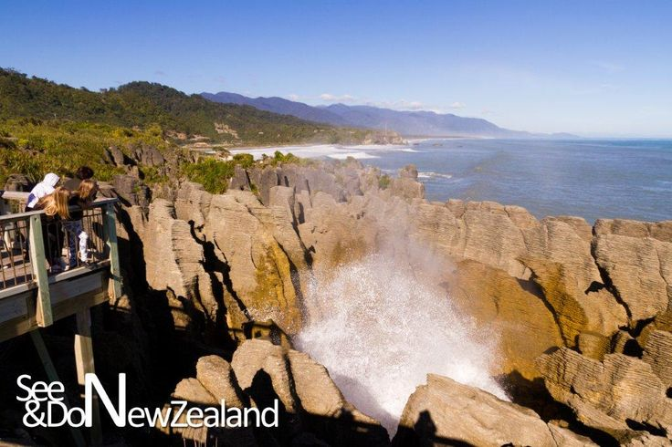 Punakaiki on the West Coast of the Southern Alps in NZ, is best known for its Pancake Rocks and Blowholes – both of which are spectacular and a must-see when visiting the West Coast. Watch the video: http://www.seeanddo.co.nz/punakaiki