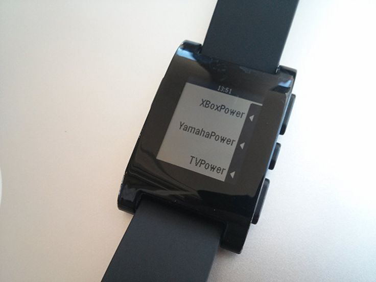 Using a RaspberryPi and Pebble Watch to control your home theater
