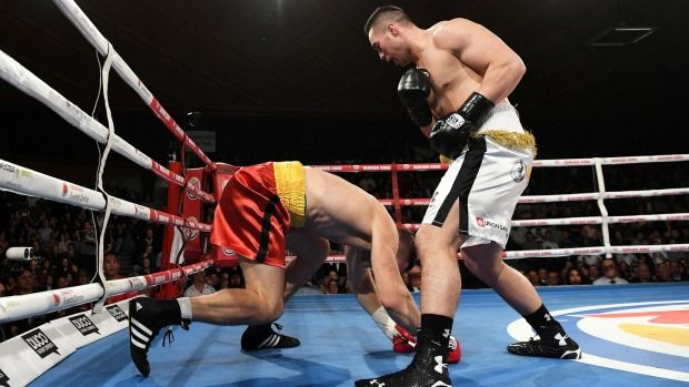 Joseph Parker tried to apologise to angry Dimitrenko for throwing one final punch - Stuff.co.nz
