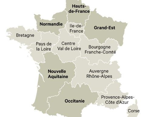It's official: France finally gets its new map - The Local