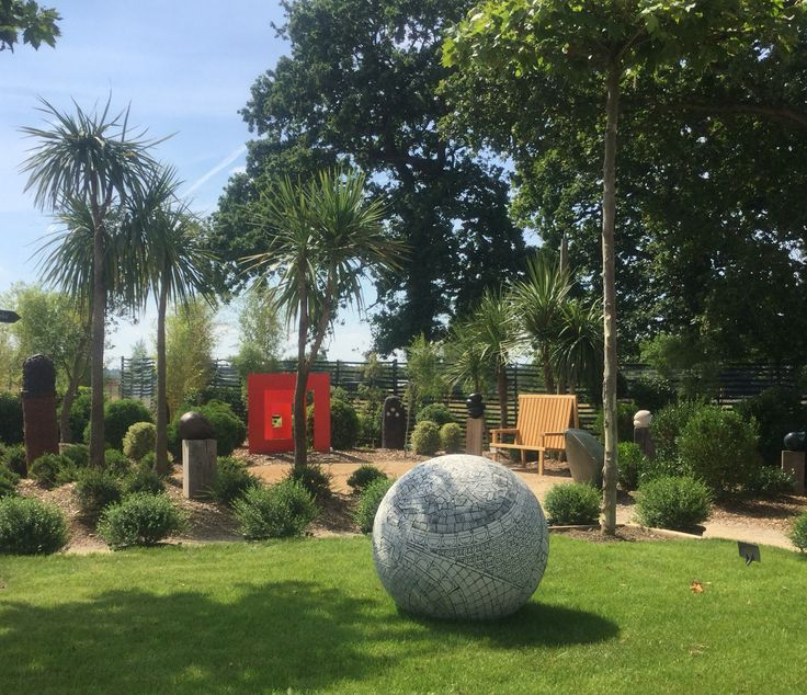 The Sculpture Garden at Architectural Plants, Pulborough