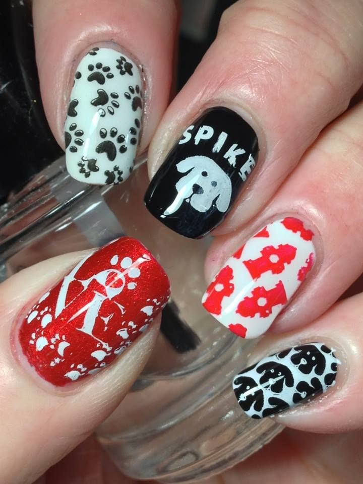 The 25 best animal nail designs ideas on pinterest animal nail 56 stunning unique animal nail art ideas for your wild side prinsesfo Image collections