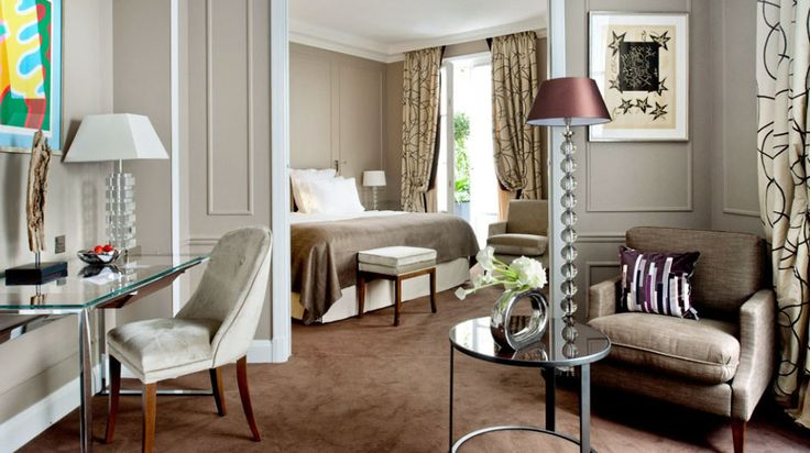 Hotel Le Burgundy Paris in Paris | Splendia - http://pinterest.com/splendia/