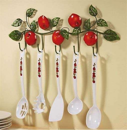 Ceramic Apple Kitchen Decorations Bohomarketblog