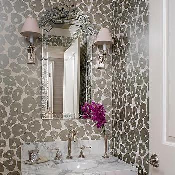 Best Leopard Print Wallpaper Ideas On Pinterest Leopard - Animal print bathroom decor for small bathroom ideas