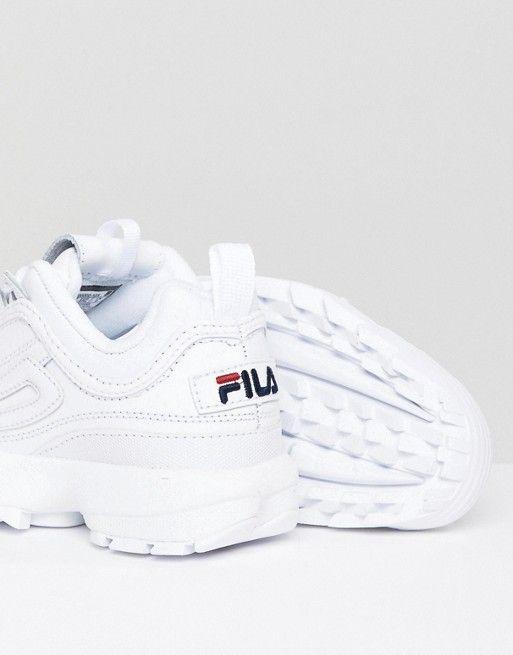 Fila – Disruptor – Weiße Sneaker in 2019 | Favourite Shoes ...