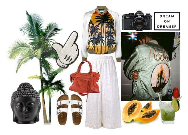 Untitled #205 by fashiondisguise on Polyvore featuring Yves Saint Laurent, DANIELA GREGIS, TravelSmith, Balenciaga, Anya Hindmarch, Caipirinha and Nikon