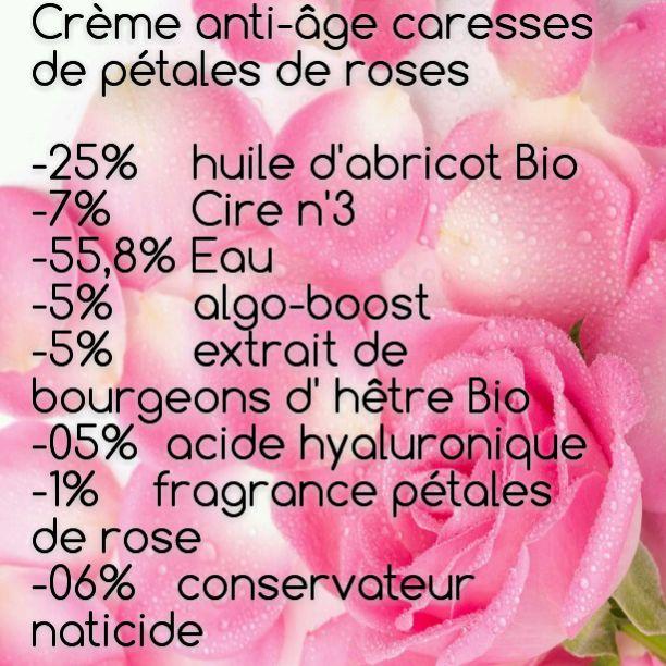 Latys : Crème anti-age caresses de pétales de roses
