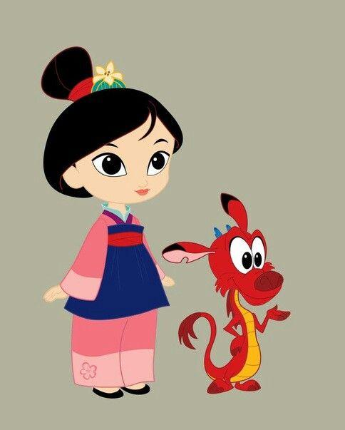 La Pequeña Mulan y Mushu