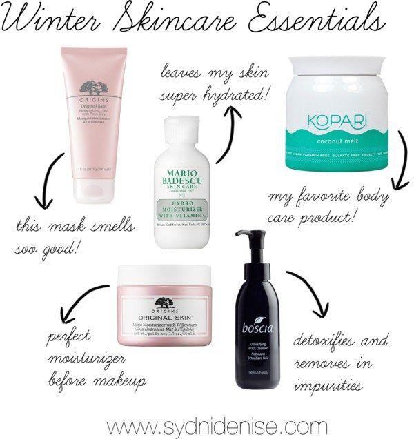 Winter Skincare Essentials Skin Care Essentials Winter Skin Care Skin Care